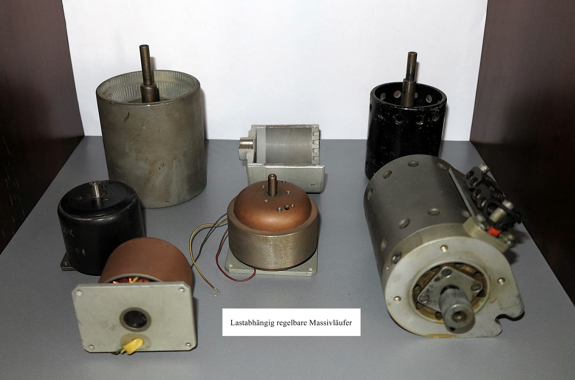 Motors for electric booking machines