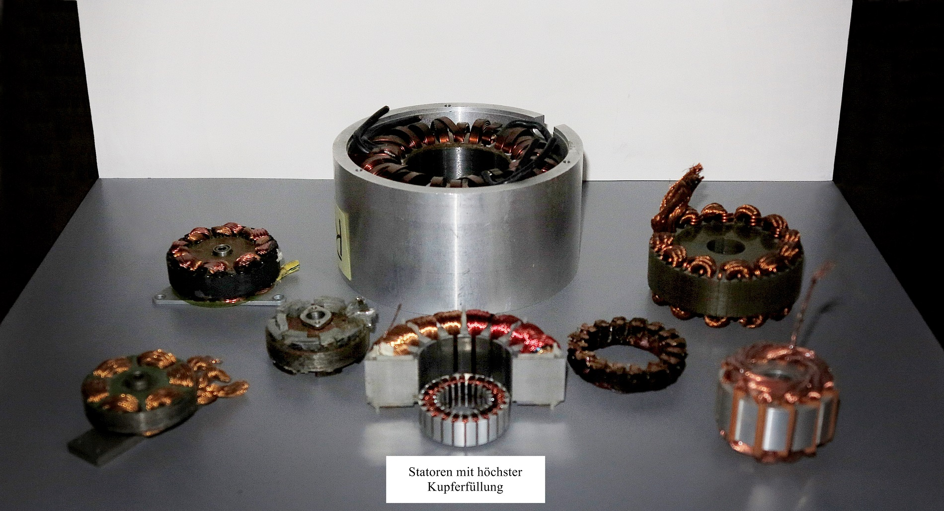 Coil and stator variations, optimization and design of rotors